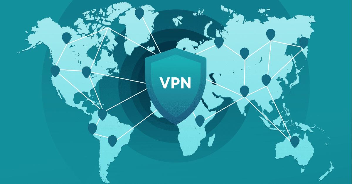 scudo con vpn davanti a mondo