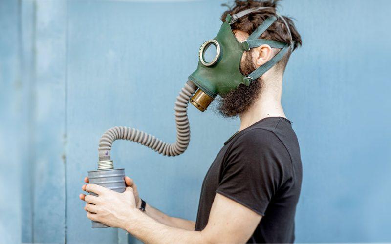 Maschere antigas con la barba - Portale Sopravvivenza