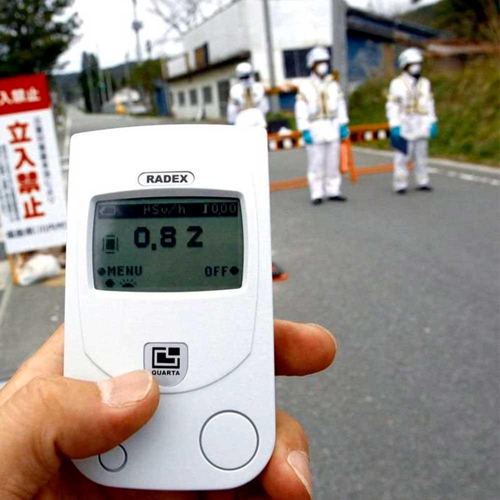Dimostrazione di utilizzo del dosimetro Radex RD1503