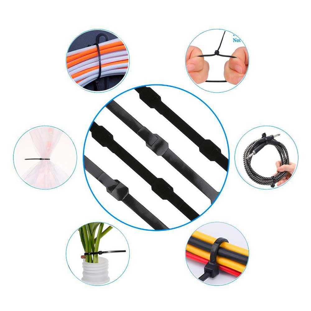 Modi d'uso per fascette nere in nylon resistente