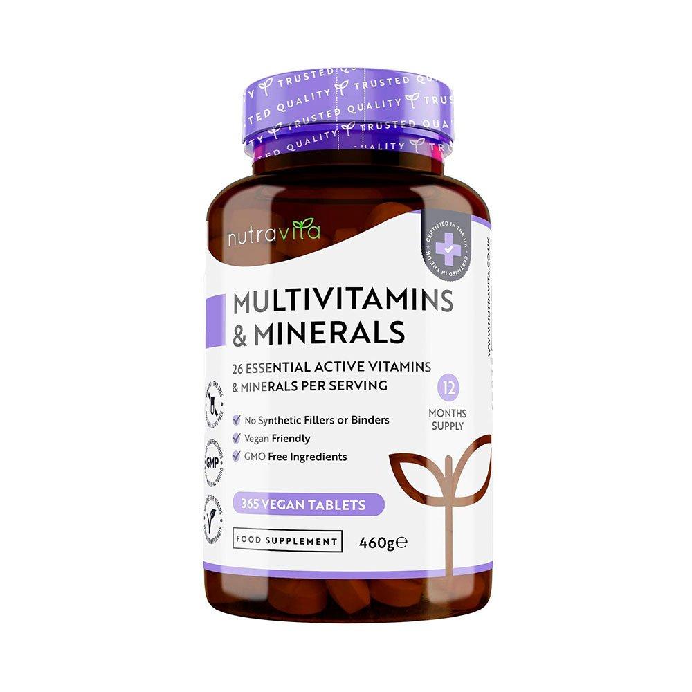 Integratore multivitaminico e minerali di NutraVita