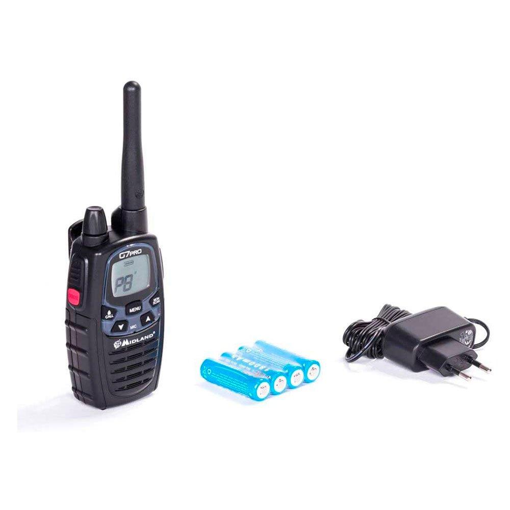 Radio ricetrasmittente Midland G7 Pro con batterie
