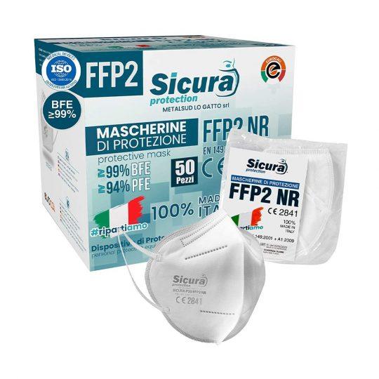 Mascherine FFP2 Sicura protection confezione da 50 pezzi