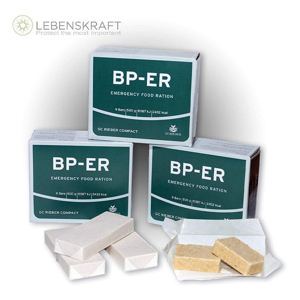 Confezioni di razioni di emergenza BP ER